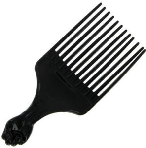me likey the black power afro pick nappy naturally